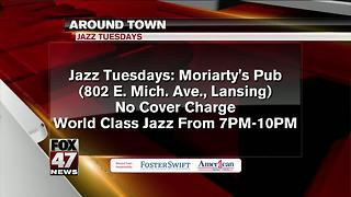 Around Town 7/3/17: Jazz Tuesdays: Moriarty's Pub - Video