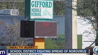 School district fighting spread of Norovirus - Video