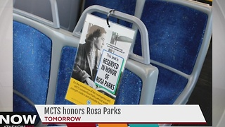 MCTS to honor Rosa Parks Thursday - Video