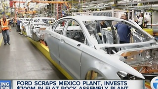 Ford scraps plans for Mexico plant, will invest in Michigan - Video