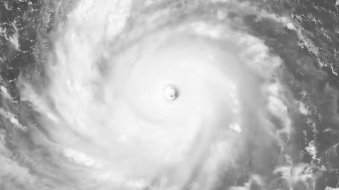 Spectacular satellite view of Typhoon Soudelor