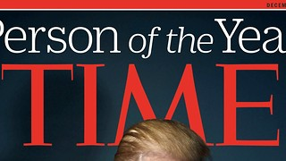 TIME Magazine names President Elect Donald Trump Person of the Year - Video