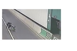 Cyclist Stumbles Wrong Way Through Sydney Lane Cove Tunnel - Video