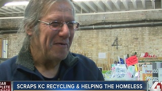 Scraps KC recycling & helping homeless - Video