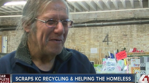 Scraps KC recycling & helping homeless