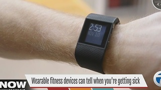 Weararble fitness trackers can tell when you're getting sick - Video