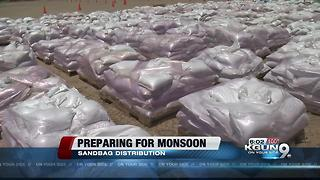 Free sandbags available in Tucson on Friday - Video