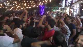 Pakistanis Celebrate Cricket Team's Champions Trophy Win in Islamabad - Video
