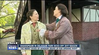 The Merry Wives of Windsor kicks off opening night at Delaware Park - Video