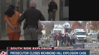 Prosecutor closes Richmond Hill explosion case - Video