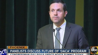 State leaders hold summit about DACA program - Video
