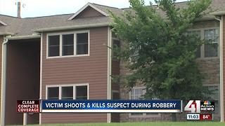 KCPD: Man dead in shooting at Timber Lakes apts. - Video