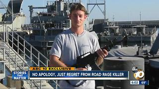 No apology, just regret from road rage killer - Video