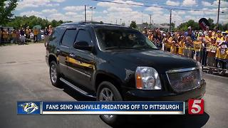 Fans Send Predators Off In Style - Video