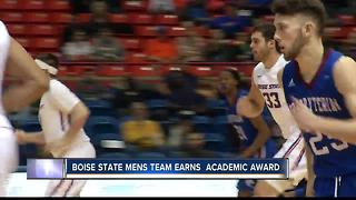 Broncos Men's Basketball Earns Academic Award - Video