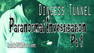 Paranormal Investigation of a Haunted Tunnel in Dingess WV - Video