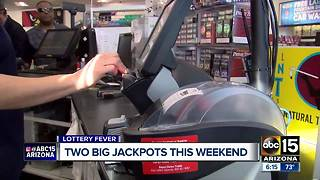 Lottery fever is sweeping the Valley - Video