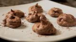 Chocolate Meringue Cookies - Video