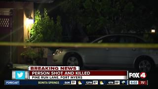 San Carlos Park homicide investigation Tuesday night - 6am live update