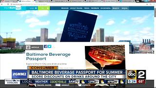 Save on drinks with Baltimore Beverage Passport - Video