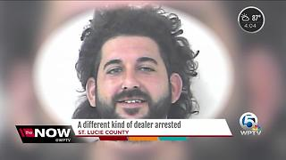 A  different kind of dealer arrested - Video
