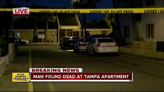 Detectives search for girlfriend's son after man shot dead outside Tampa apartment