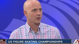 US Figure Skating Championships in KC - Video