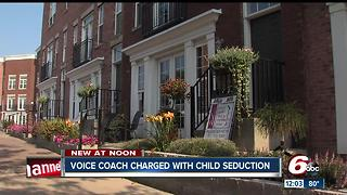 Voice coach charged with child seduction - Video