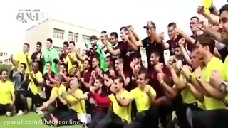 Iran national football team's reaction to Korea team - Video