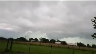 Possible Tornado Spotted Near Lindale, Texas - Video