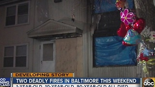 2 children, 90-year-old woman killed in weekend house fires