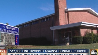 Fine dropped against Dundalk church that was helping the homeless - Video