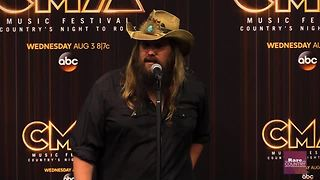 Chris Stapleton talks about his year | Rare Country - Video