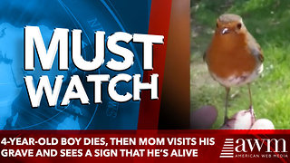 4-Year-Old Boy Dies, Then Mom Visits His Grave And Sees A Sign That He's Alive - Video