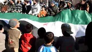 Syrians Protest in Homs Province, As Ceasefire in Place - Video