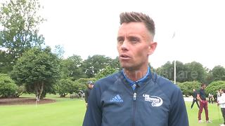 Former Villa favourite Lee Hendrie delighted with 'statement signing' Terry - Video