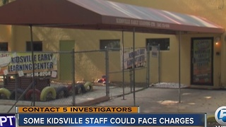 Some Kidsville staff could face charges - Video