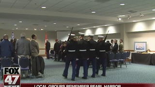 Local groups remember Pearl Harbor - Video