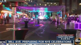 Tempe tosses Mill Ave. block party, fireworks still on - Video