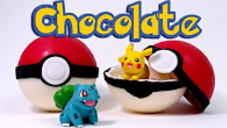 How to make chocolate Pokemon GO pokeballs - Video