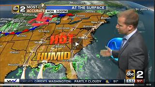 Heat Wave Holds into Tuesday! - Video