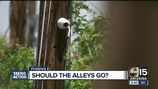 New pilot program to keep criminals away from alleyways - Video