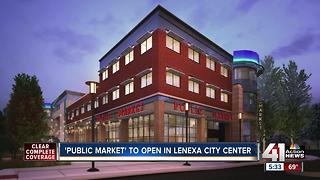 Lenexa's Public Market grand opening is one month away - Video