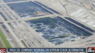 No more gyp stacks? Engineers developing way to make fertilizer without nasty by-product - Video