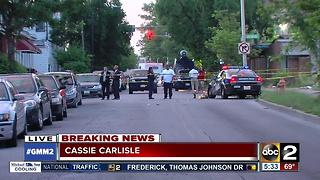 Baltimore police investigate quadruple shooting - Video