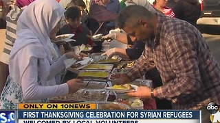 First Thanksgiving celebration for Syrian refugees - Video