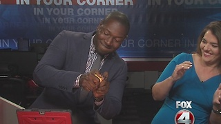 FOX 4 super sage apple challenge - Video
