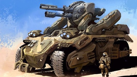 10 Scary Future Weapons Of War