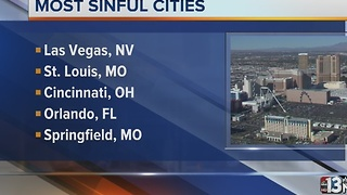 Las Vegas named 'Most Sinful City' in 2016 - Video