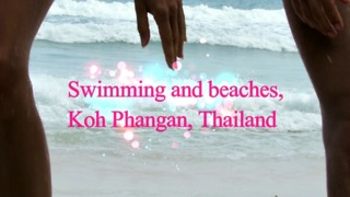 Swimming and beaches, Koh Phangan, Thailand - Video